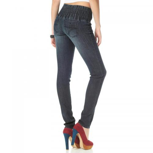 Arizona - Jegging slim denim femme Arizona - Bleu - Vêtements femme