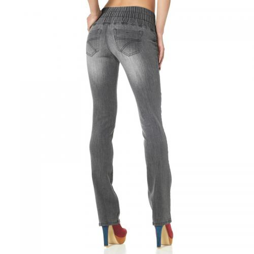 Arizona - Jegging slim denim femme Arizona - Gris - Vêtements femme