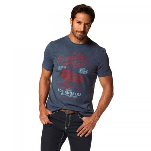 Arizona - T-shirt manches courtes homme Arizona - Multicolore - T-shirt / Polo