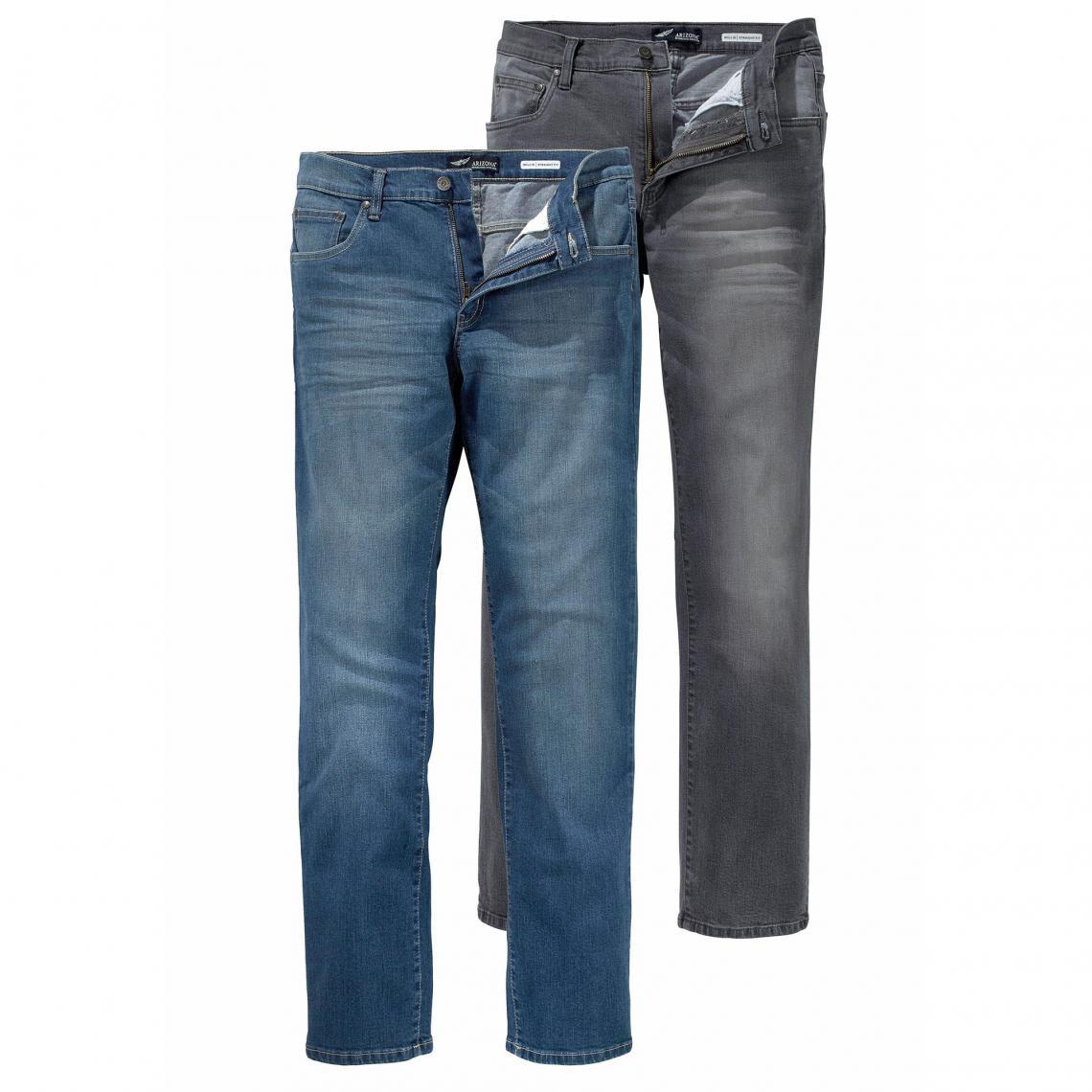 5 Willis Droite Poches Homme Stretch De Coupe 2 Coton Lot Jeans XqFw1