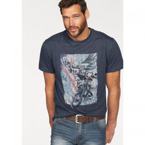 Arizona - T-shirt manches courtes homme Arizona - Bleu - T-shirt / Polo