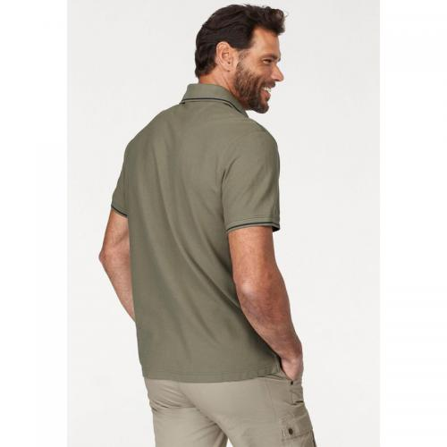 Arizona - Polo manches courtes homme Arizona - Vert Olive - T-shirt / Polo