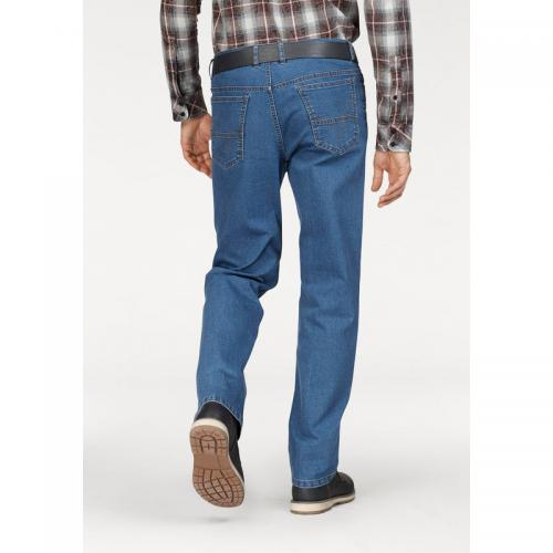 Arizona - Jean stretch 5 poches homme L34 Arizona - Bleu Used - Jean