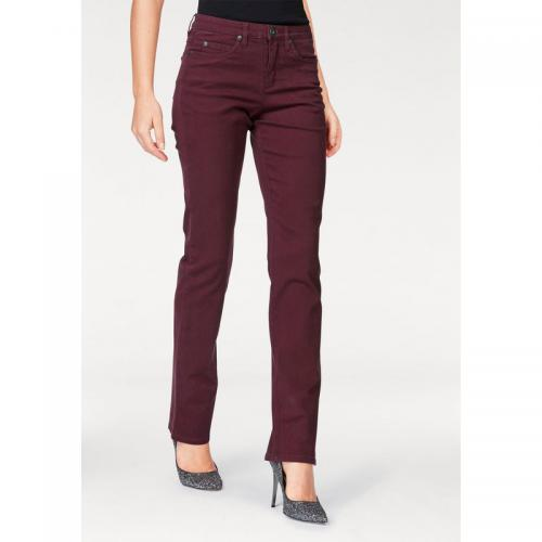 Arizona - Jean droit femme Arizona - Rouge - Jean droit