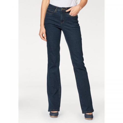0f829a3b8 Jean bootcut taille haute extra confort femme Arizona - bleu foncé