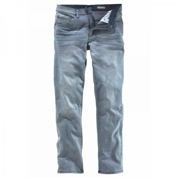 Jean slim-fit Clint 5 poches stretch L34 homme Arizona - Gris clair used - Gris Clair Used Arizona