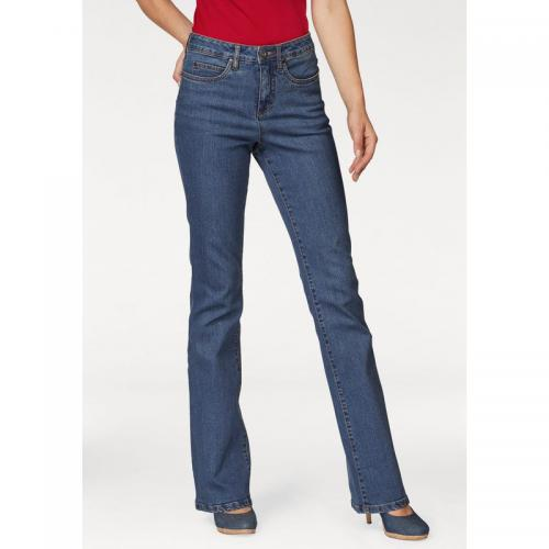 Arizona - Jean bootcut taille haute extra confort femme Arizona - Bleu  Stone - Jeans bootcut 835b4a21fa7f