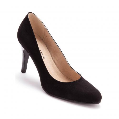 8b29dabf120df9 Balsamik - Escarpins à talons à bouts pointus femme Balsamik - Noir - Chaussures  femme