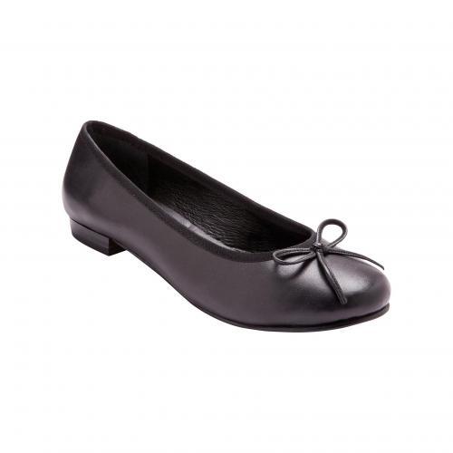 c0fcca571d95a1 Balsamik - Ballerines plates avec nœud Balsamik - Noir - Promos chaussures,  accessoires femme