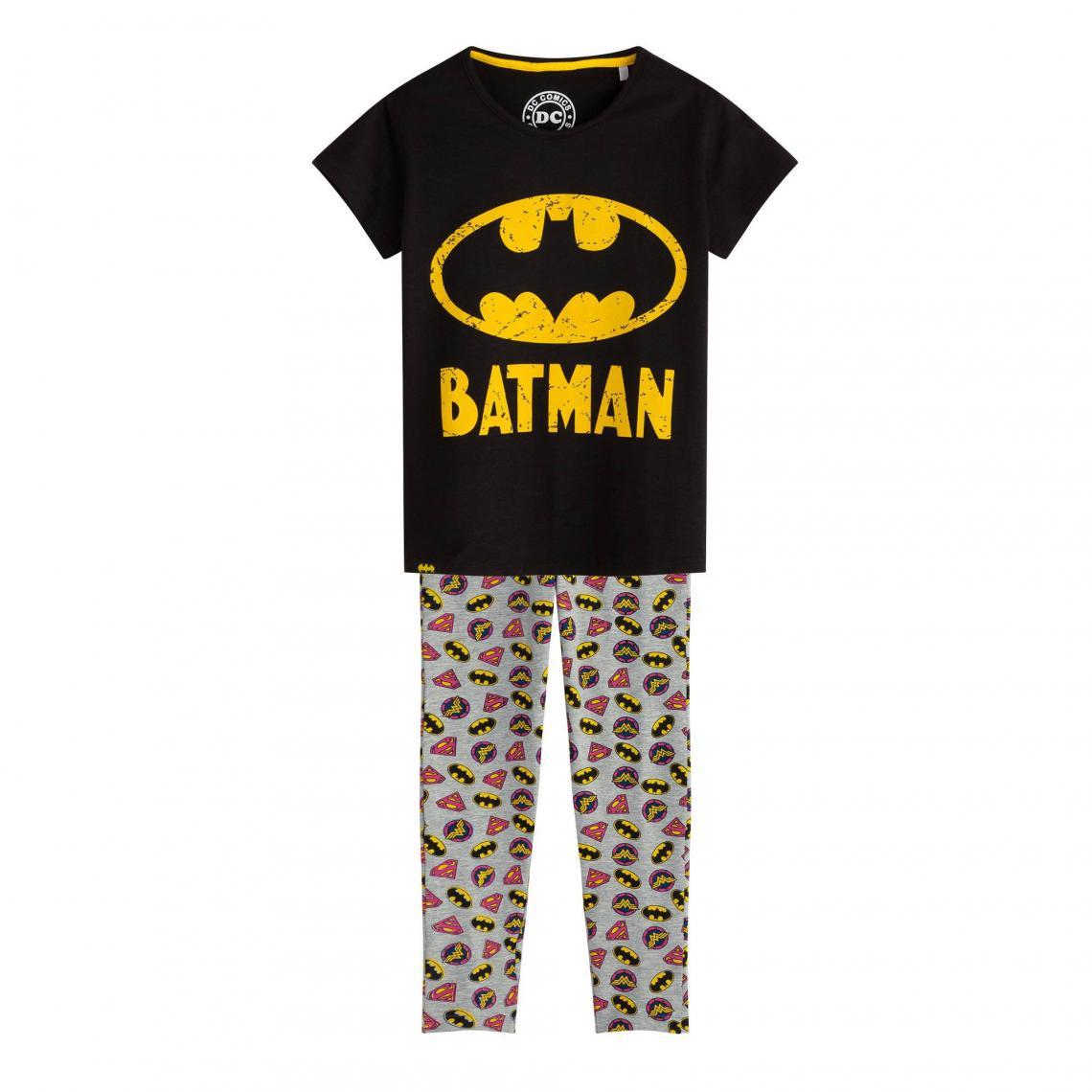 Pyjama maille jersey fille Batman - Multicolore - 3Suisses