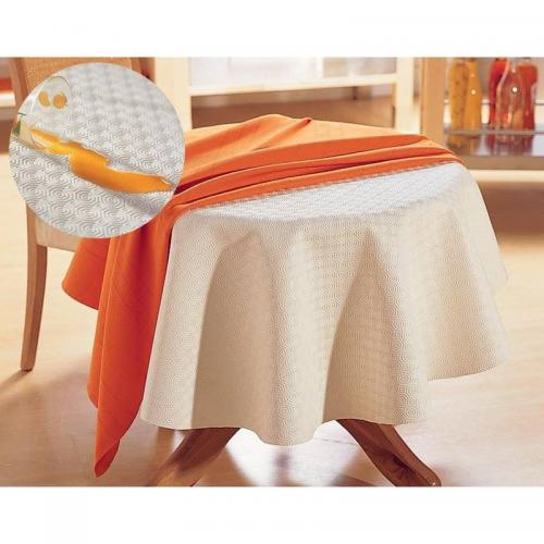 Becquet - Nappe protection de luxe - Blanc - Linge de table