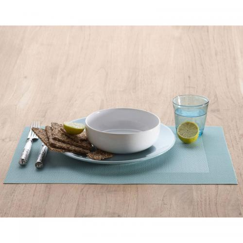 Becquet - Set de table rectangulaires unis Becquet - Aqua - Sets, chemins de table