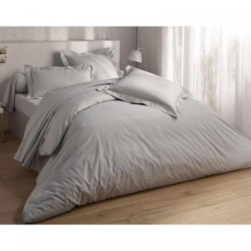 drap housse en percale repassage facile becquet violet 3suisses. Black Bedroom Furniture Sets. Home Design Ideas