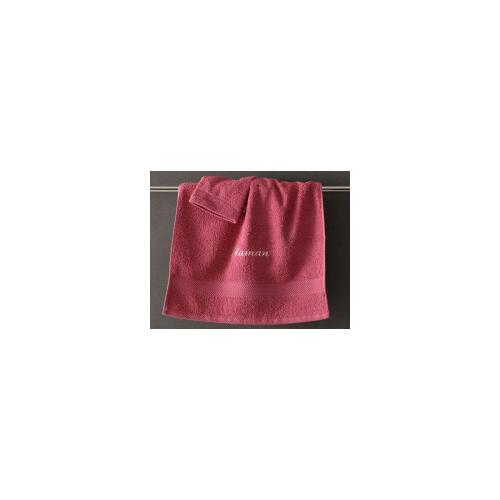 Becquet - Lot de 2 gants unis coton Becquet - Rose - Serviettes de toilette