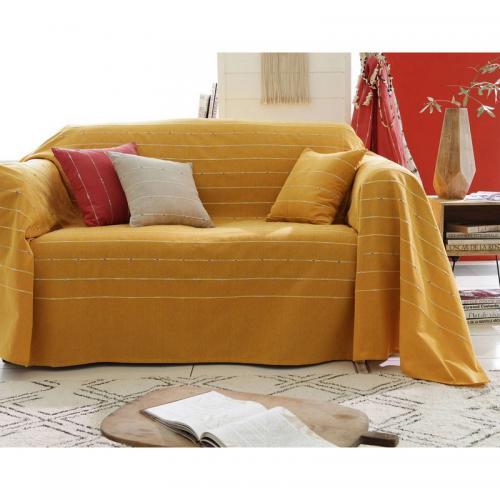 plaid rideaux d co textile 3 suisses. Black Bedroom Furniture Sets. Home Design Ideas