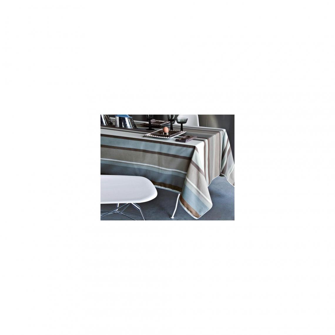 Nappe Micro-Enduite Rayée BECQUET - Bleu CqBAr