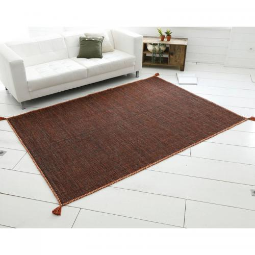 Tapis tissé Becquet - Orange