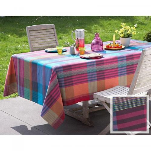 Becquet - Nappe carreaux madras - Linge de table