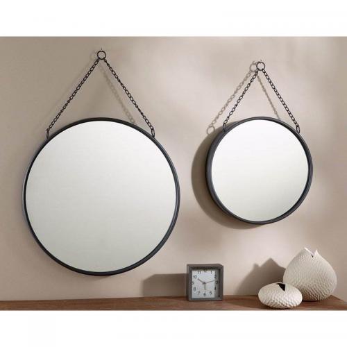 Becquet   Miroir Rond En Métal Becquet   Autres   Miroirs