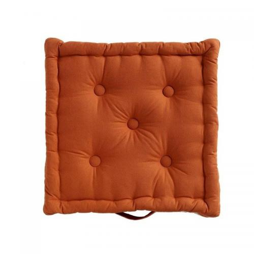 Becquet - Lot de 2 coussins uni Becquet - Orange - Linge de maison