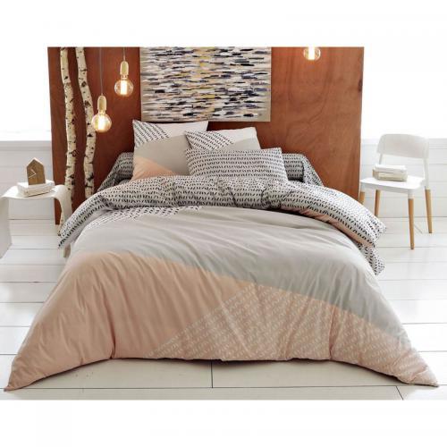 housse de couette style nordique becquet rose 3suisses. Black Bedroom Furniture Sets. Home Design Ideas