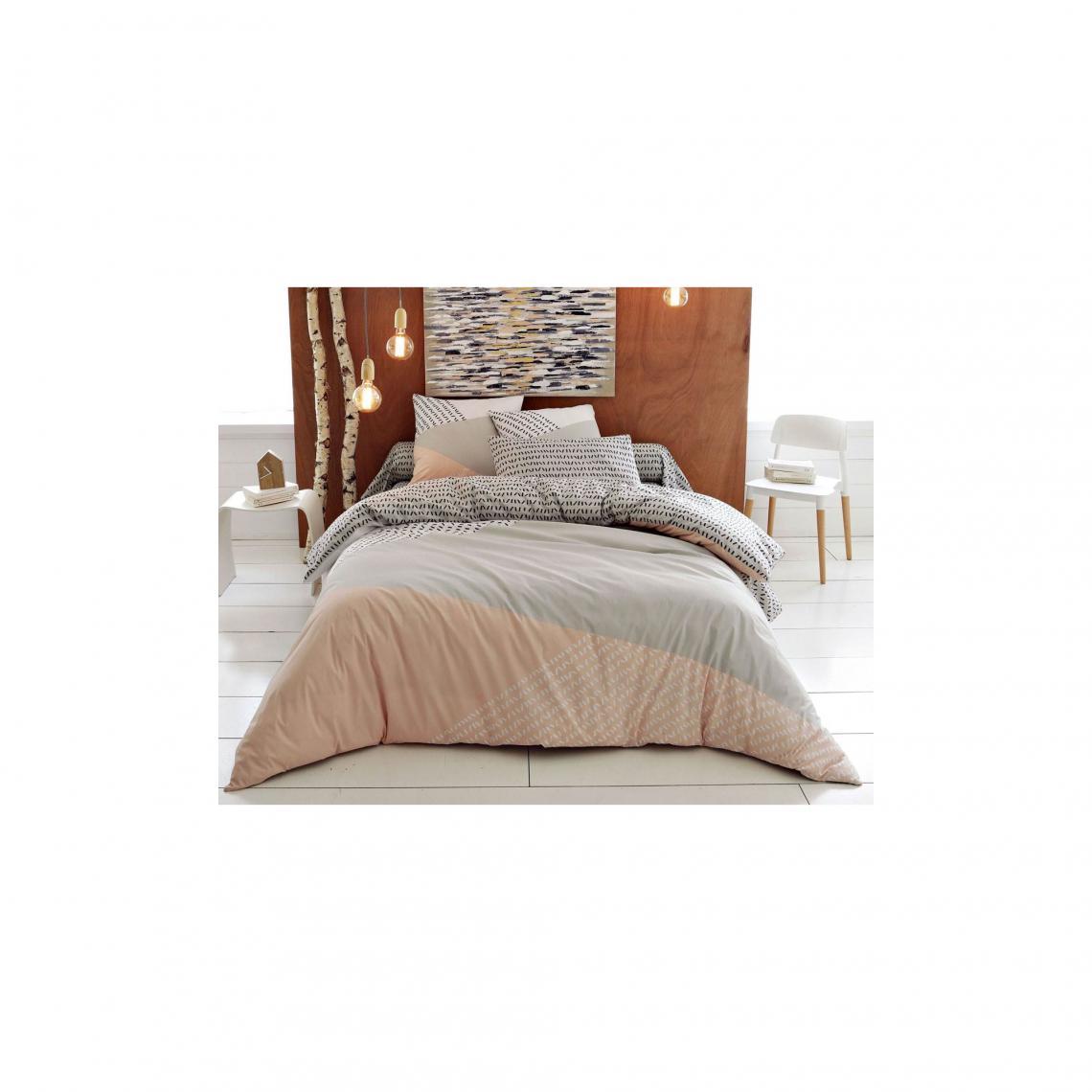 housse de couette style nordique becquet rose 3 suisses. Black Bedroom Furniture Sets. Home Design Ideas