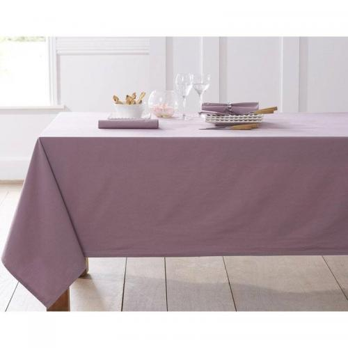 Becquet - Lot de 3 serviettes de table Becquet - Mauve - Linge de maison