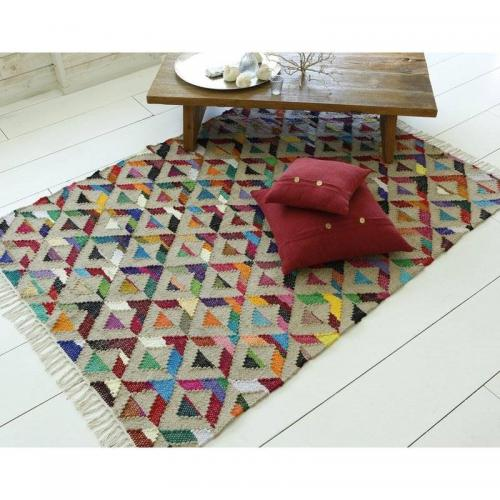 Tapis style tribal - Multicolore