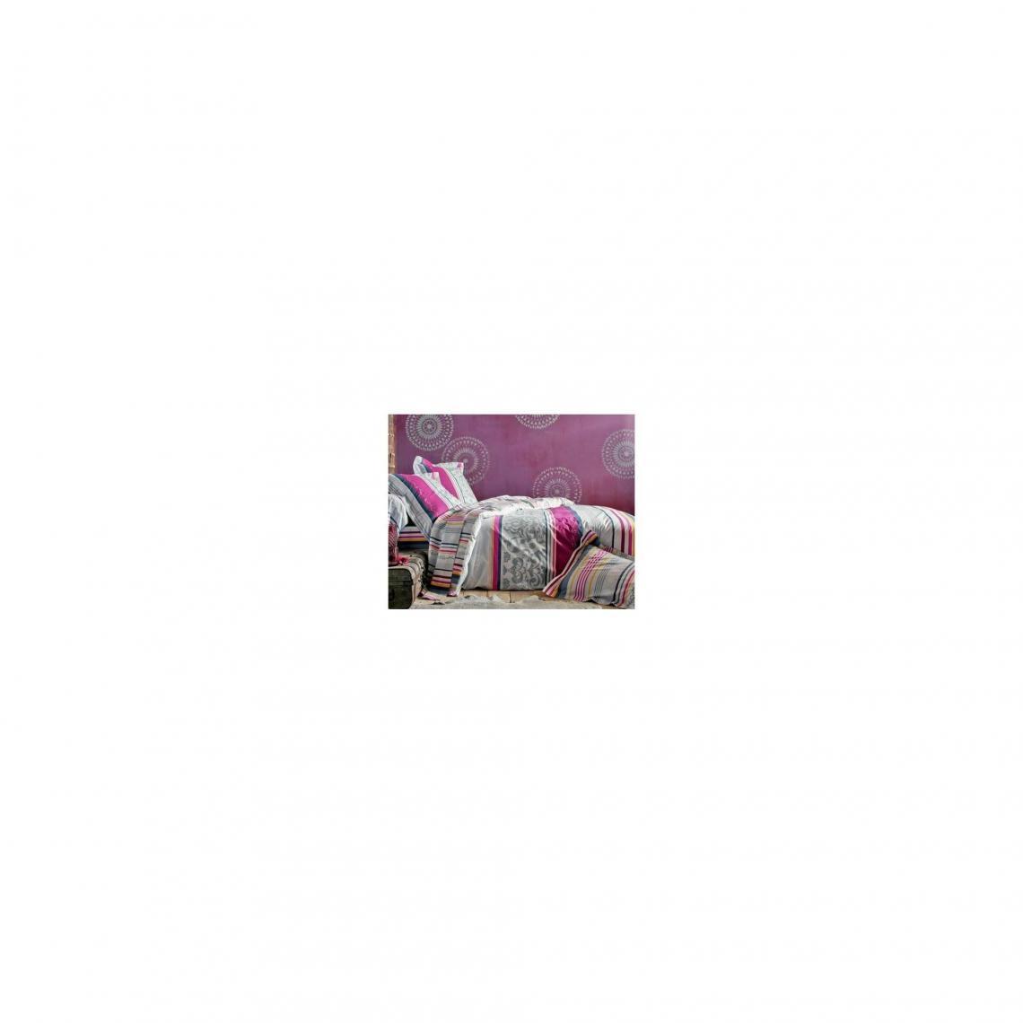 2d9614359e28f Drap-housse arabesques BECQUET - Multicolore Becquet Linge de maison