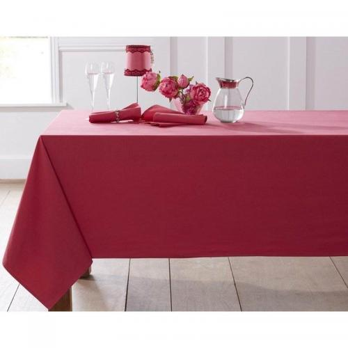 Becquet - Lot de 3 serviettes de table Becquet - Rouge Cerise - Linge de maison