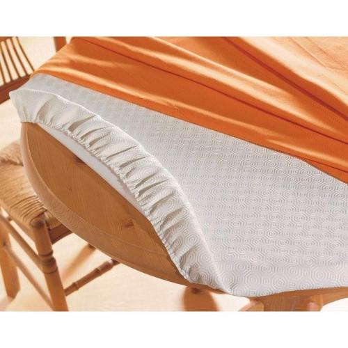 Becquet - Nappe Ovale pour table Becquet - Blanc - Linge de table