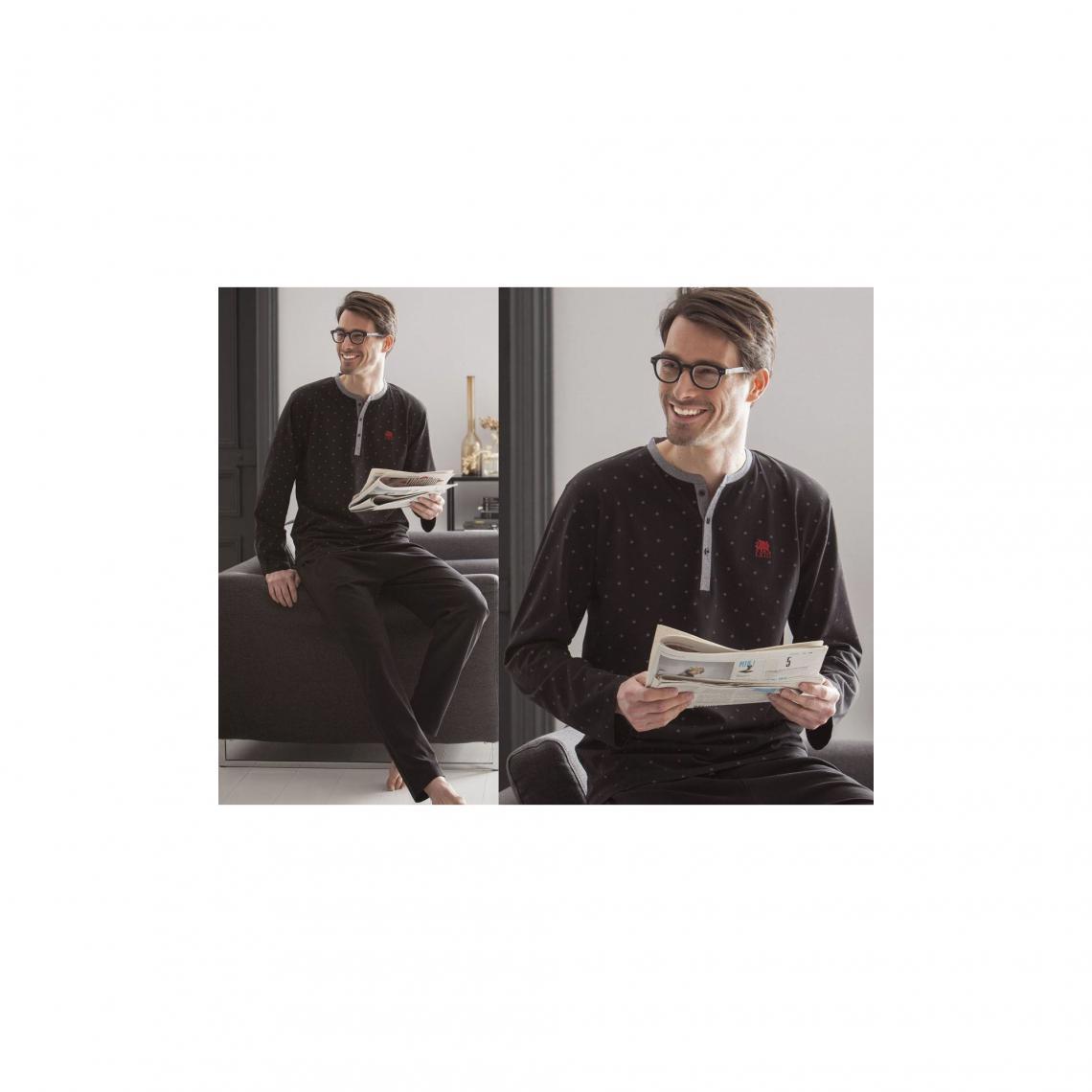 Pyjama homme Becquet - Noir - 3Suisses