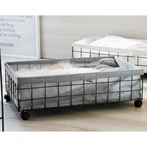 rangement dessous de lit becquet unique 3 suisses. Black Bedroom Furniture Sets. Home Design Ideas