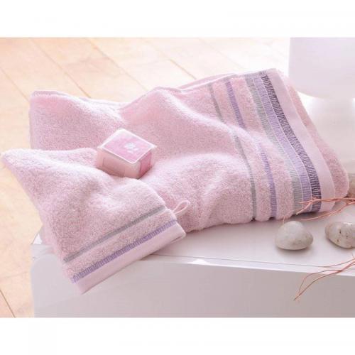 serviette de toilette 430g m2 becquet rose 3 suisses. Black Bedroom Furniture Sets. Home Design Ideas