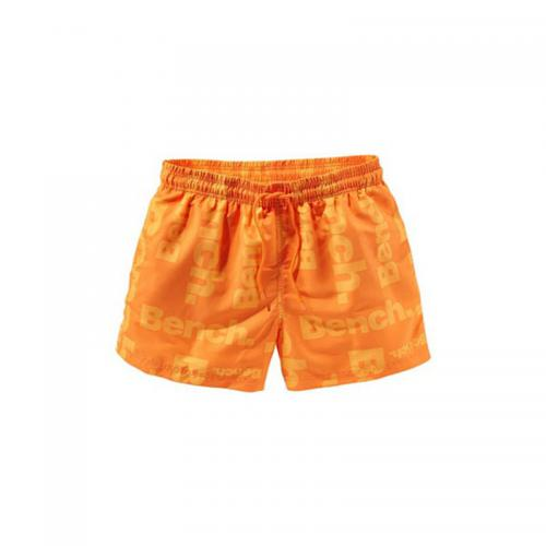 Bench - Boardshort en microfibre imprimée homme Bench - Orange - Promos vêtements homme