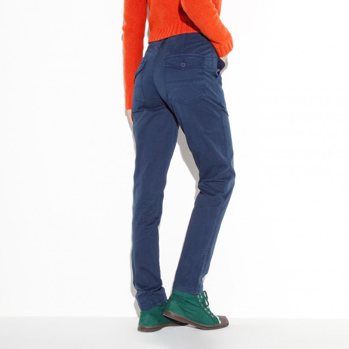 Uni Femme Pantalon Bleu3 Suisses Cargo Bensimon OZNwknP8X0