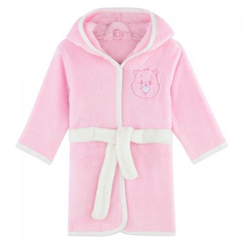 3b792c4f93b4e Bisounours - Robe de chambre à capuche fille Bisounours - Rose - Pyjama