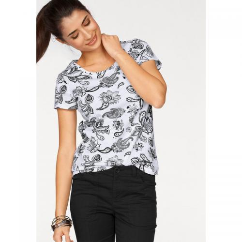 7dcf96e1b835 Boysen s - Lot de 2 t-shirts col rond manches courtes femme BoyseN s - Blanc