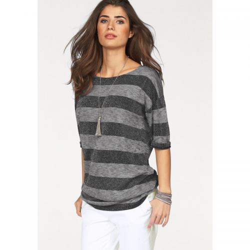 3d1eeb9792f6 Boysen s - T-shirt long rayé femme Boysen s - rayé gris - T-shirts