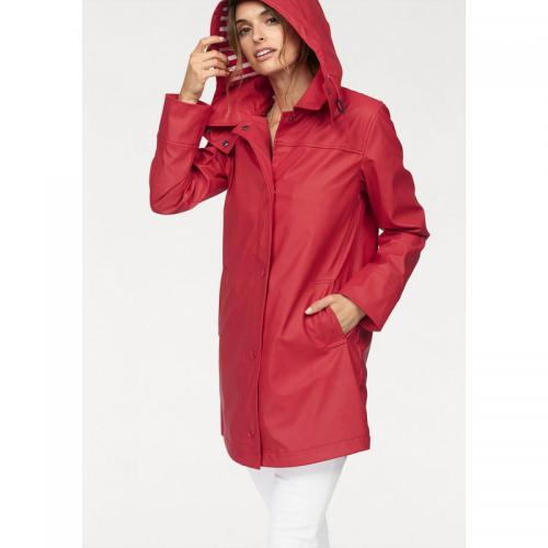 Boysen's - Imperméable à capuche style marin doublure rayée femme BoyseN's - Rouge - Trench