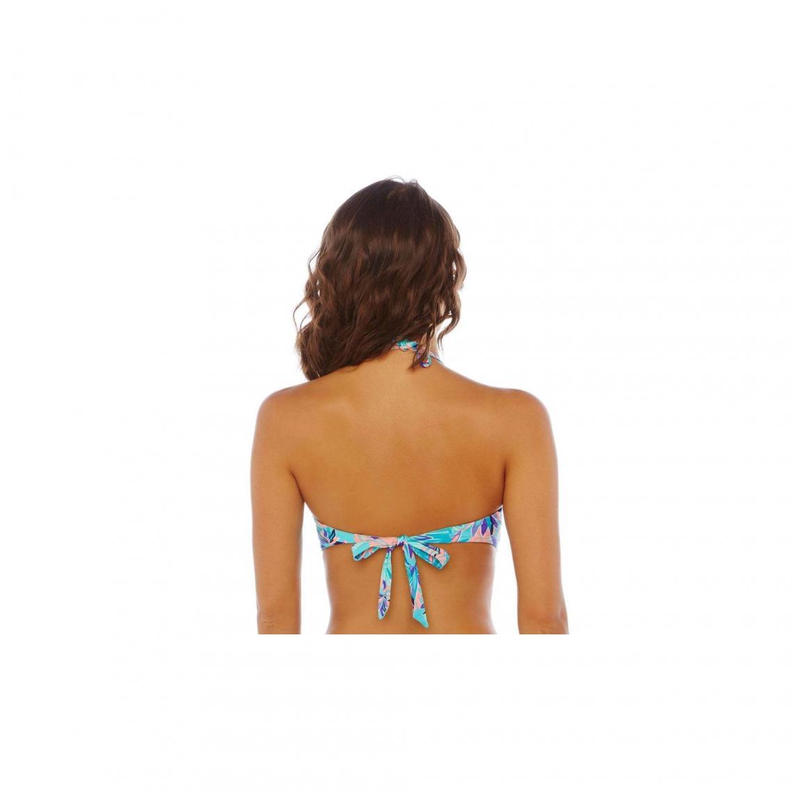 1fdea53cd1 Maillots de bain 2 pièces Brigitte Bardot Cliquez l'image pour l'agrandir.  Haut de maillot bandeau turquoise Exotique BRIGITTE BARDOT - Bleu Brigitte  Bardot
