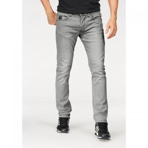 Bruno Banani - Jean coupe slim stretch homme Jimmy Bruno Banani - Gris Clair - Promos vêtements homme
