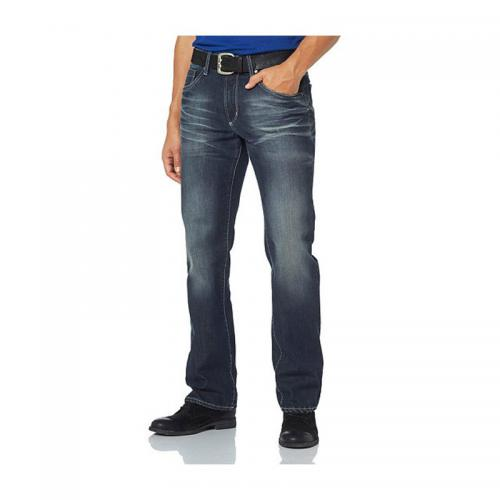 Bruno Banani - Jean coupe droite denim homme Bruno Banani longueur 32 - Multicolore - Promotions