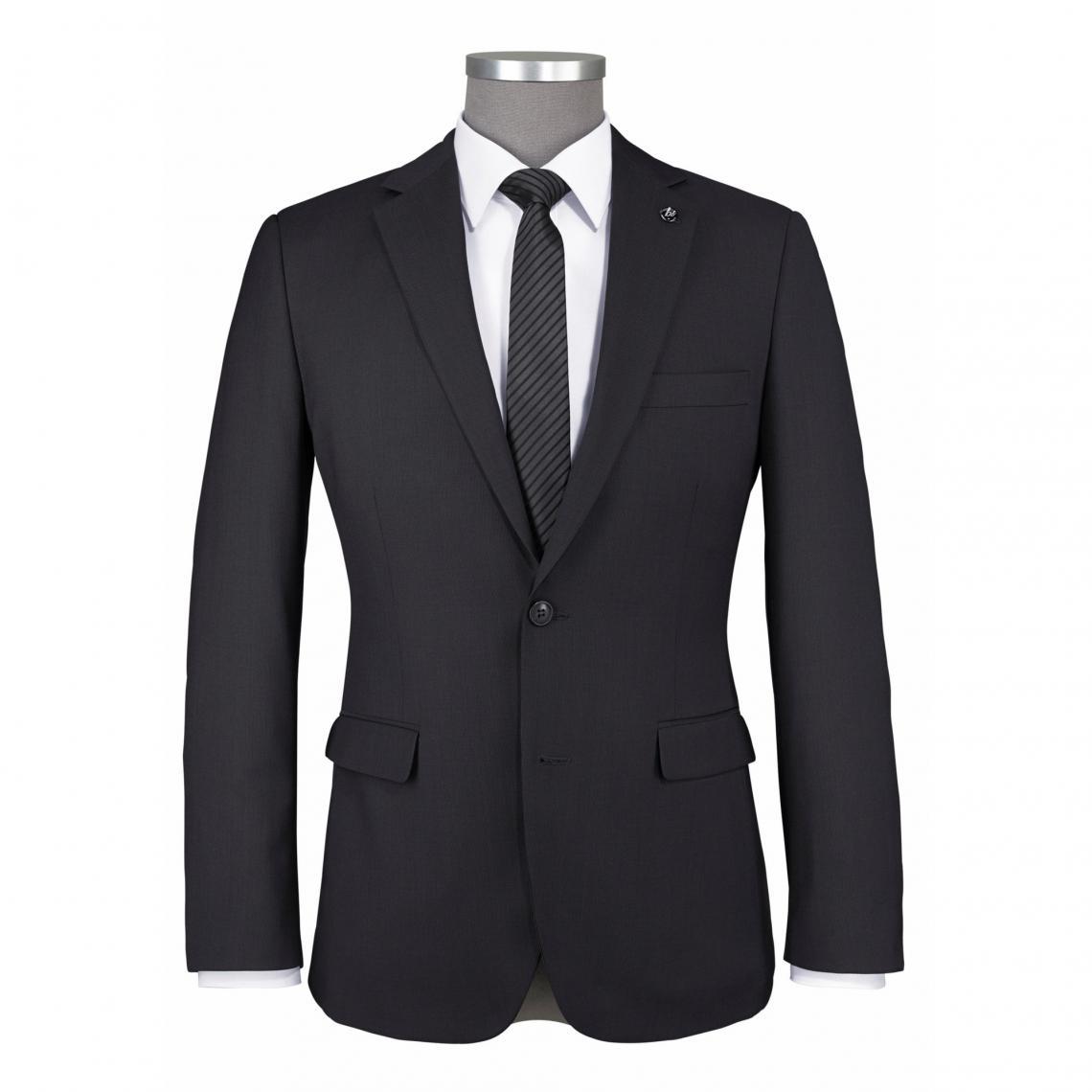 7ed3f68fce0d Veste de costume 2 boutons homme Montana Bruno Banani - Gris Bruno Banani