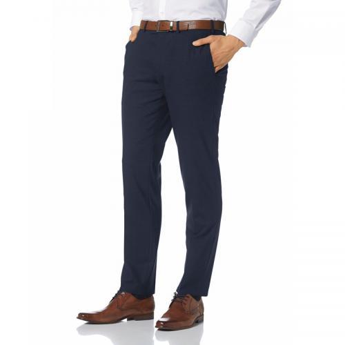 89b1568dfafa4 Bruno Banani - Pantalon de ville droit Montana homme Bruno Banani - Bleu -  Pantalon