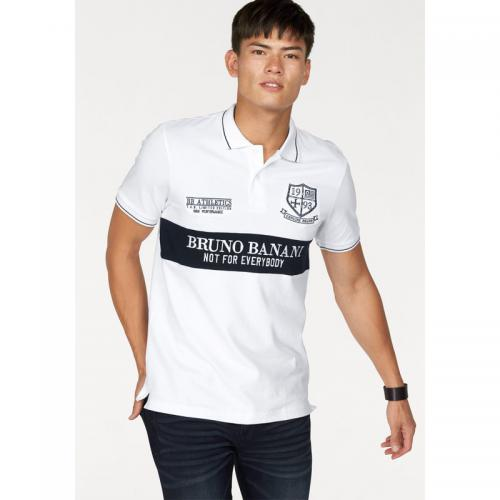 Bruno Banani - Polo manches courtes homme Bruno Banani - Blanc - T-shirt / Polo