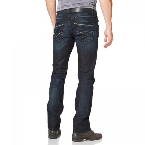 Bruno Banani - Jean Straight Dylan homme Bruno Banani - bleu foncé - tailles américaines - Jean
