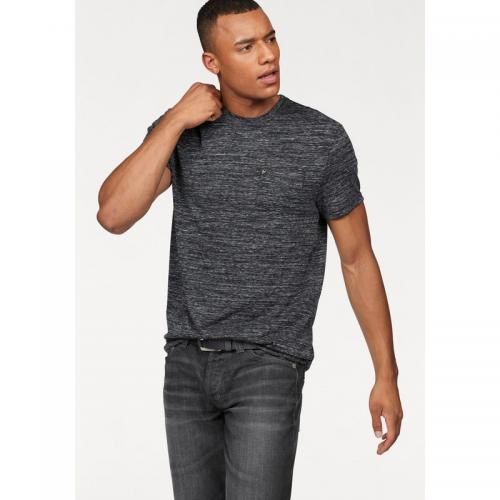 Bruno Banani - T-shirt manches courtes homme Bruno Banani - Noir Chiné - T-shirt / Polo