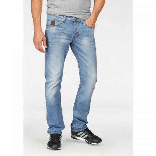 Bruno Banani - Jean coupe slim stretch homme Jimmy Bruno Banani - Bleu - Promos vêtements homme