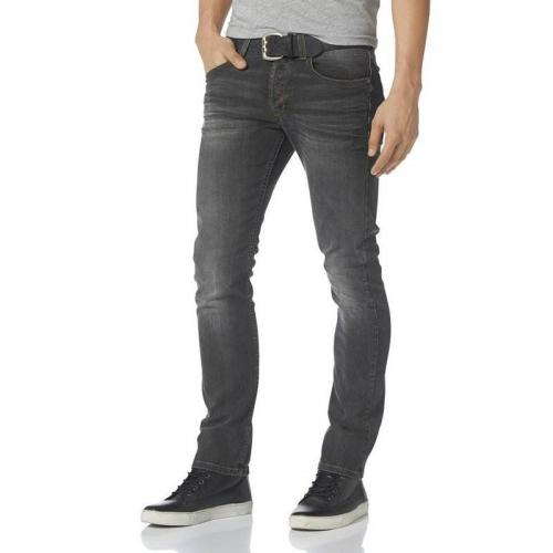 Bruno Banani - Jean coupe slim stretch homme Jimmy Bruno Banani - Gris - Jean